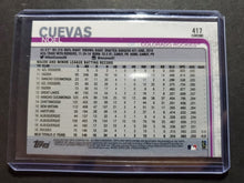 Load image into Gallery viewer, 2019 Topps Chrome Sapphire Noel Cuevas Rookie