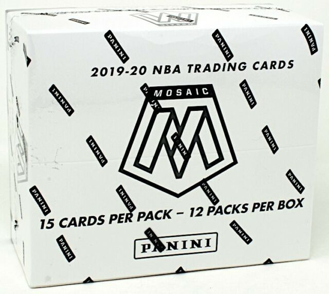 19/20 Hobby Box Panini Multi Pack Cello Basketball