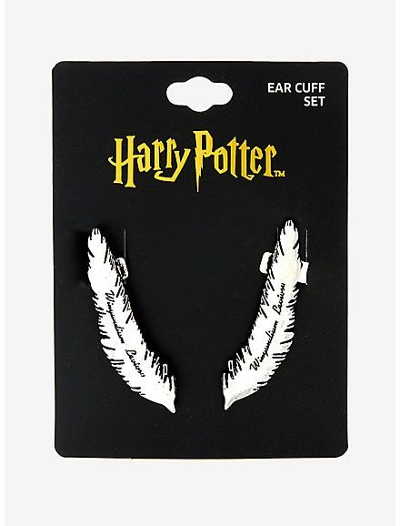 Leviosa Feather Earring Cuff
