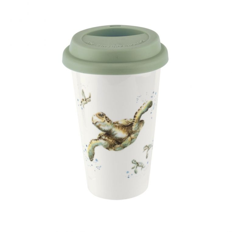 Turtle Wrendale Travel Royal Worcester Mug