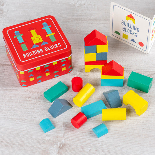 Building Block In A Tin