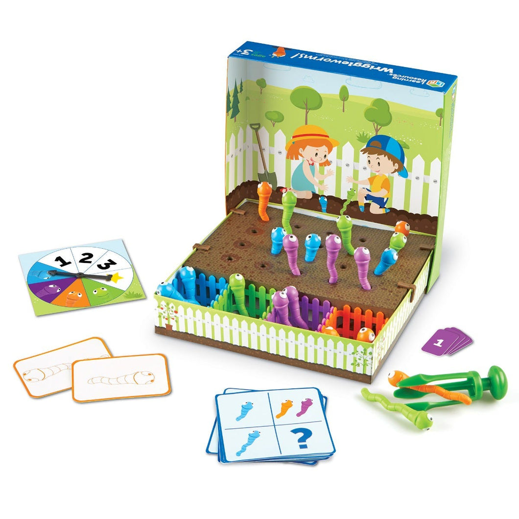 Wriggleworms! Fine Motor Activity Set - Age 3-7