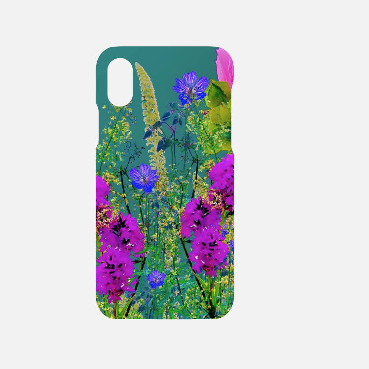 'Turquoise pinks' mobile phone case