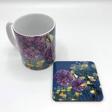 Load image into Gallery viewer, Floral mug, floral kitchenware, flowery mugs and coasters