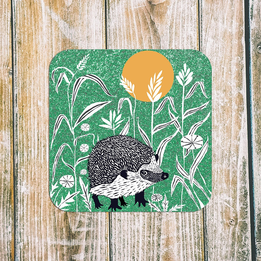 Wilder Hedgehog Art Coaster