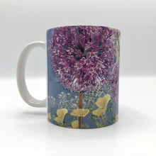 Load image into Gallery viewer, Floral mug, floral kitchenware, flowery mugs