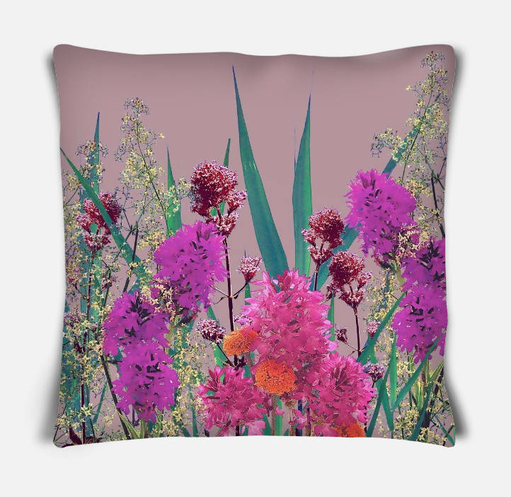 'Meadow pickings' Cushion