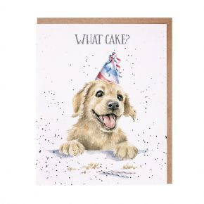 Wrendale 'What Cake?' Birthday Card