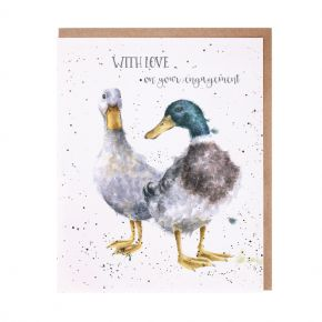 Wrendale 'Quackers' Engagement Card