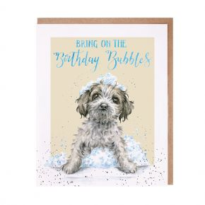 'Birthday Bubbles' Card by Wrendale Designs