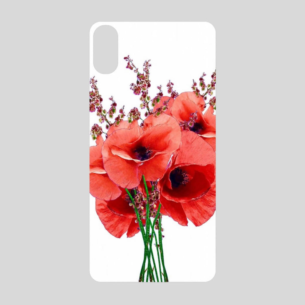 'Poppy bunch' mobile phone case