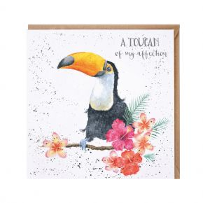 'A Toucan of my Affection' Card by Wrendale Designs