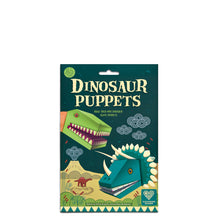 Load image into Gallery viewer, Make your own Dinosaur Puppets