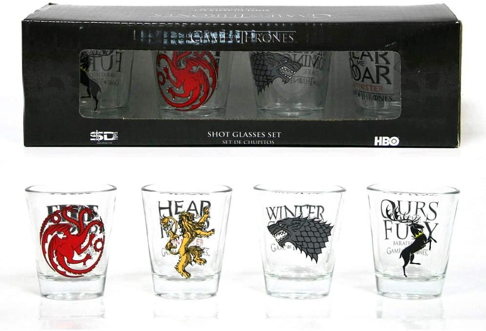 Game of Throne Shot Glass Set
