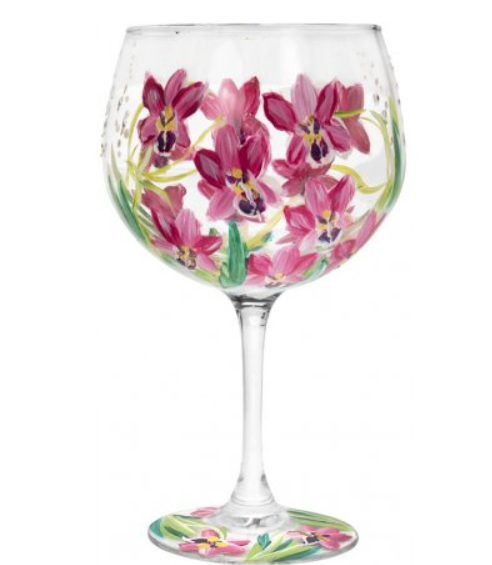Orchid Gin Glass