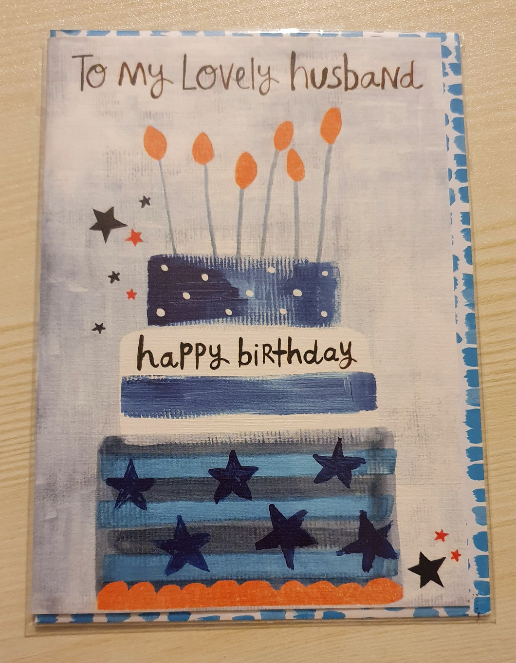 To my Lovely Husband Birthday Card