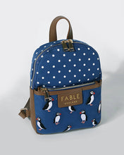 Load image into Gallery viewer, Mini Puffin Rucksack by Fable UK