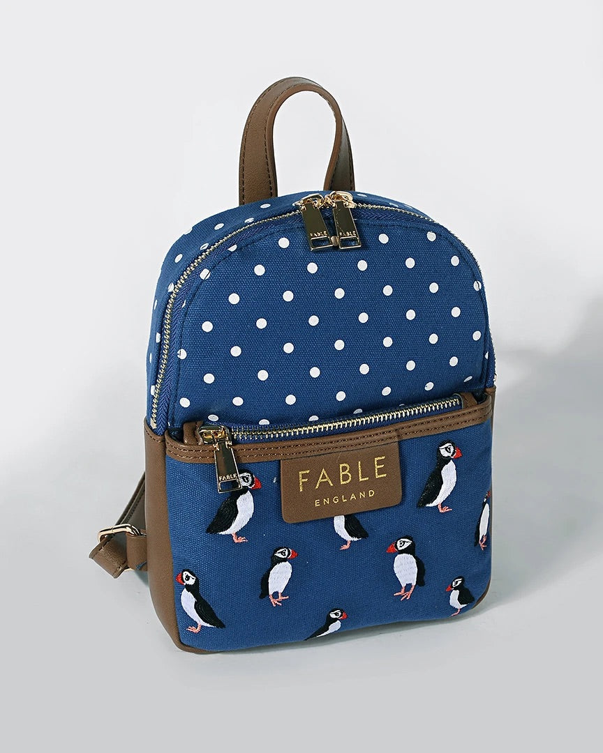 Mini Puffin Rucksack by Fable UK