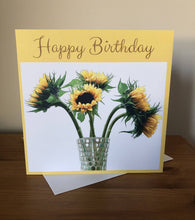 Load image into Gallery viewer, Floral greetings cards - Birthday, Thank you, Get well, Thinking of you