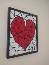 Load image into Gallery viewer, Handmade heart mosaic