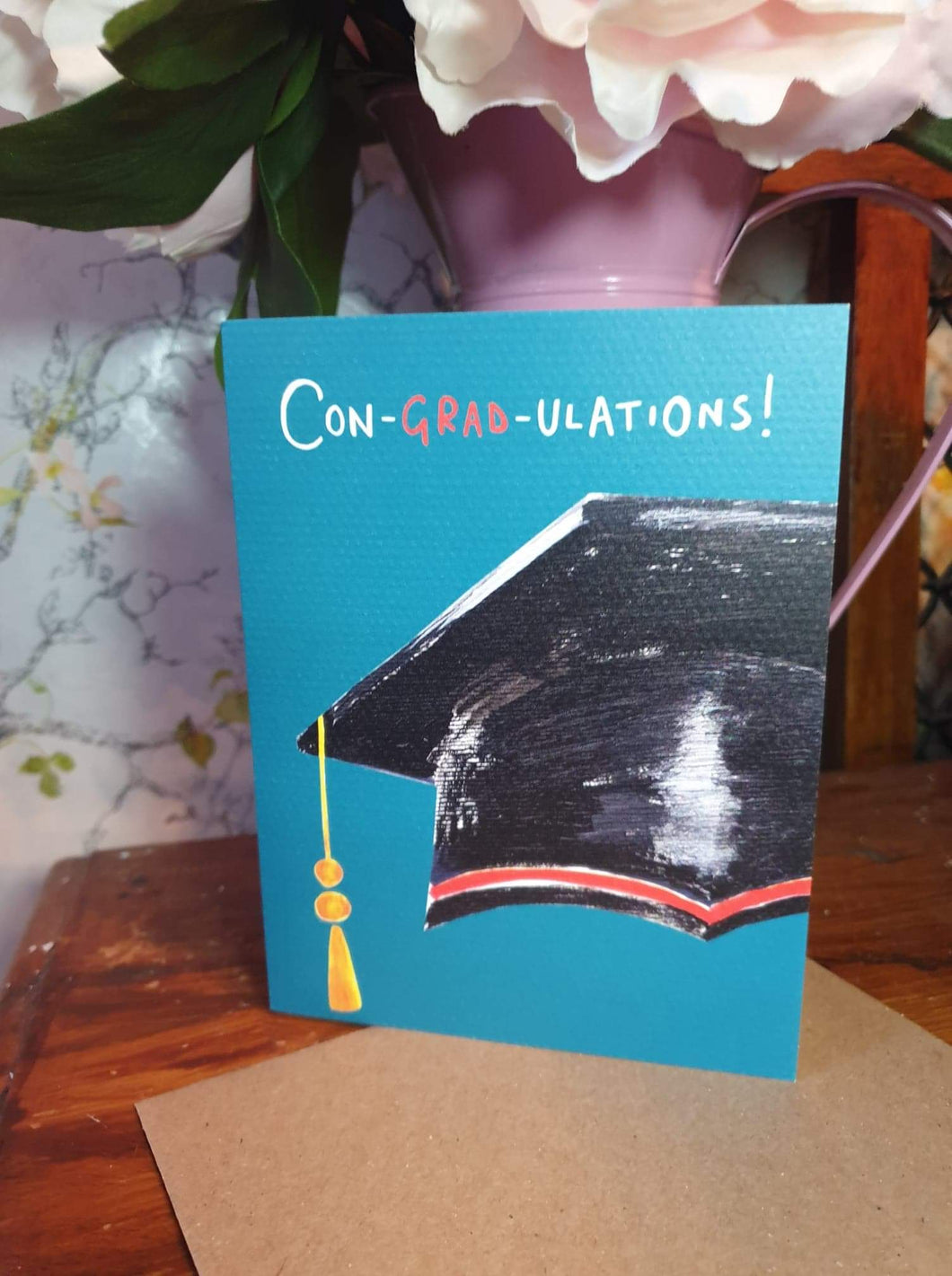 'Con-grad-ulations' Card