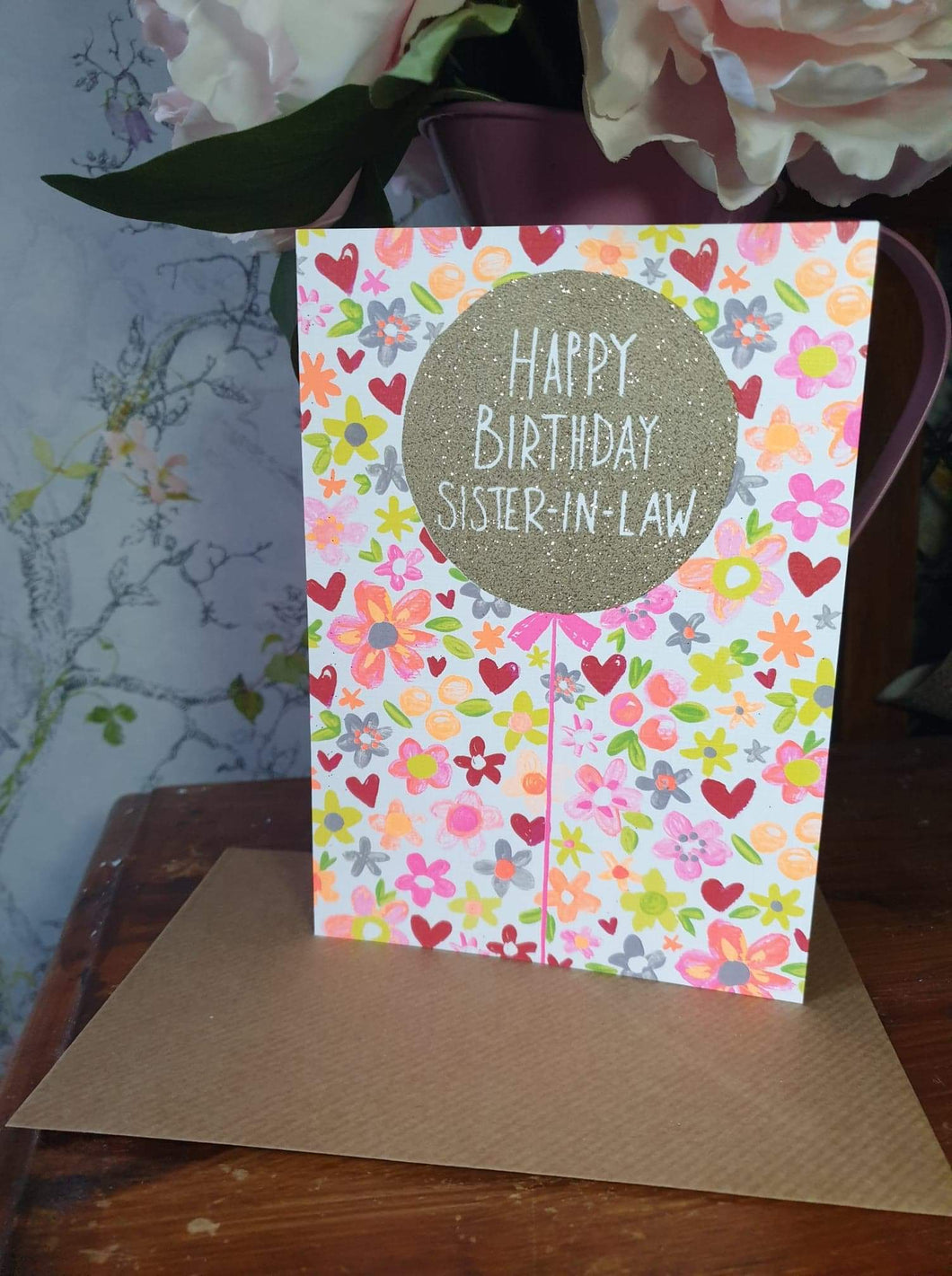 'Happy Birthday Sister-in-Law' Card