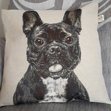 Load image into Gallery viewer, Dog cushions - French bulldog, Dalmatian, Alsatian, Westie or Jack Russel