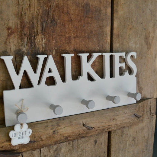 Walkies Wooden Hooks
