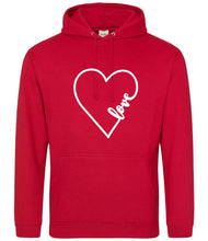 Load image into Gallery viewer, Unisex Hoodie Love