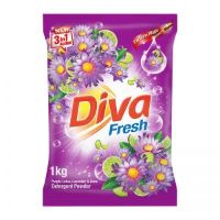 Diva Detergent Powder 1Kg,Purple Lotus and Lavender