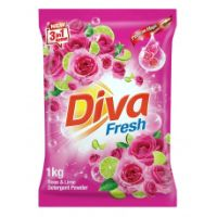 Diva Detergent Powder 1Kg,Rose