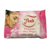 Wet Wipes 10 sheets,Hygenic - Sassy Pink