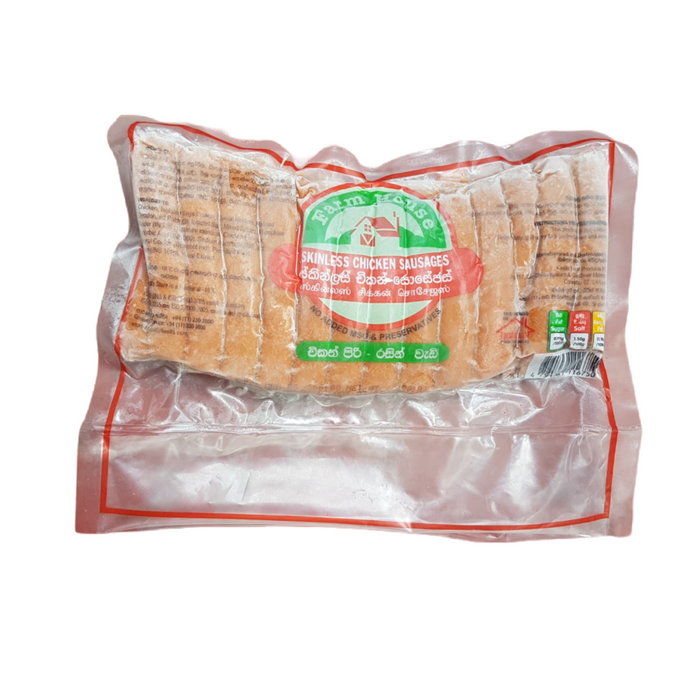 Farm House Skinless Chicken Sausages  450g