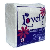 Lovely Paper Serviettes 100 Sheets