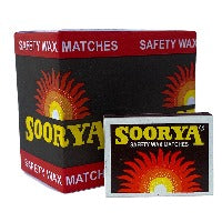 Soorya Safety Wax Matches 1 Dozen