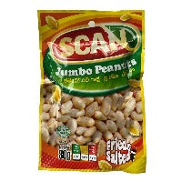 Scan Jumbo Peanuts 80G  Fried And Salted