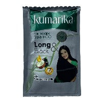 Kumarika Shampoo 6ml,Long & Black