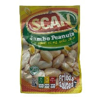 Scan Jumbo Peanuts 40G  Fried And Salted