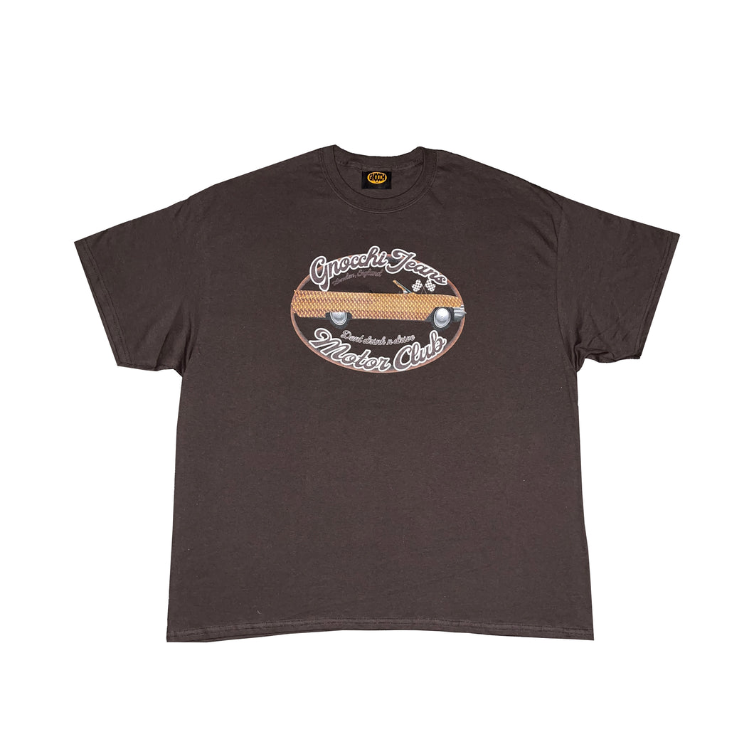 Gnocchi Motor Club - T-shirt (Chocolate)