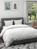 Load image into Gallery viewer, EverHome Pure White Microfiber Double comforter for Mild Winter -  200 GSM (90X100 inches)