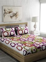 Load image into Gallery viewer, Super King 100% Cotton Bedsheet Set