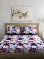 Load image into Gallery viewer, Abstract Print 100% Cotton Bedsheet