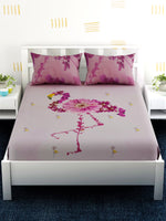 Load image into Gallery viewer, Pink Flamingo 100% Cotton Bedsheet Set