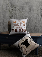 Load image into Gallery viewer, Dog Print Set of 2 Cushion Cover