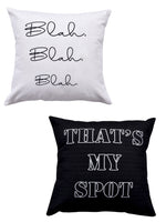 Load image into Gallery viewer, Quote Print Set of 2 Cushion Cover