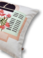 Load image into Gallery viewer, Flower Print Set of 2 Cushion Cover