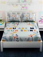 Load image into Gallery viewer, Kids Printed 100% Cotton King Size Bedsheet Set