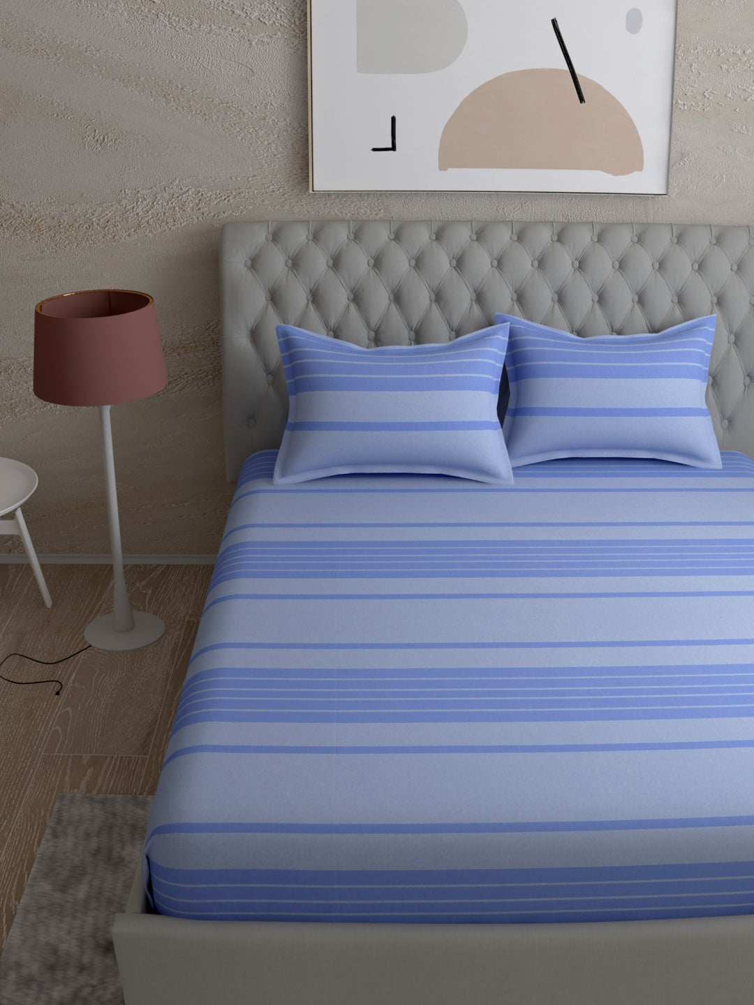 Black & Purple Microfiber Double comforter for Mild Winter