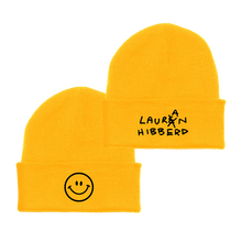 Load image into Gallery viewer, Lauran with an 'A' Beanie (Gold)