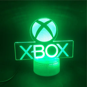 3D XBOX NIGHT LAMP